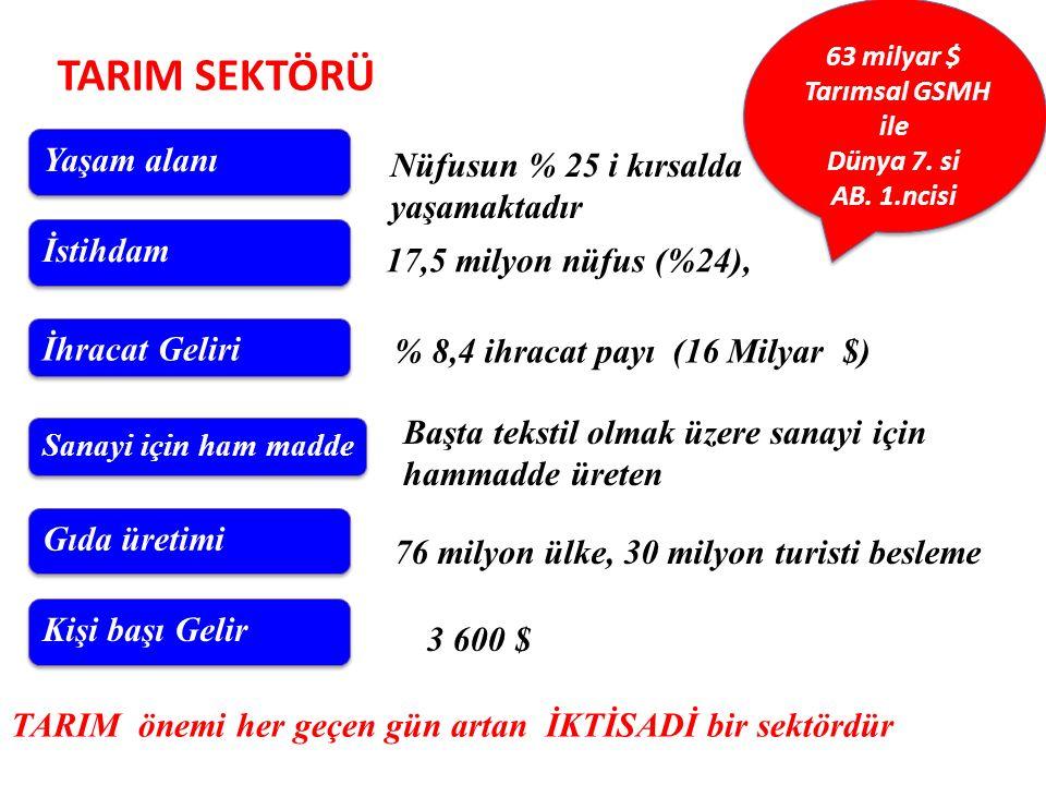 Dünyada Turkiye Ekonomisi 17.Büyük ekonomi 7.