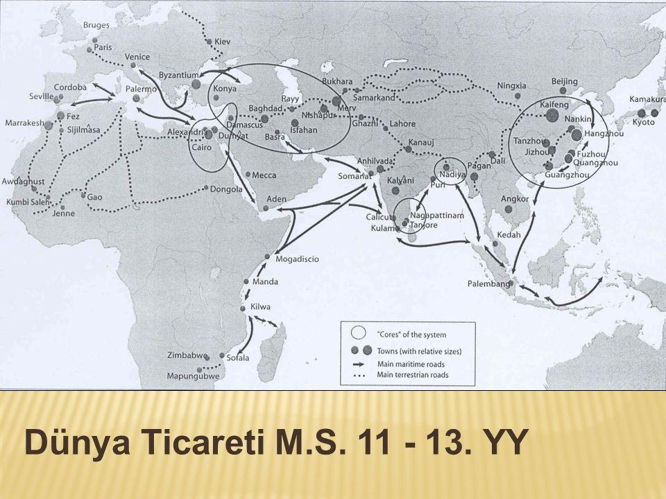 Dünya Ticareti M.S. 11 - 13. YY