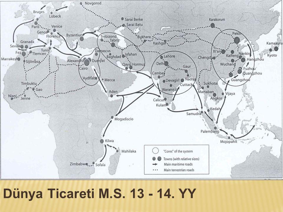 Dünya Ticareti M.S. 13 - 14. YY