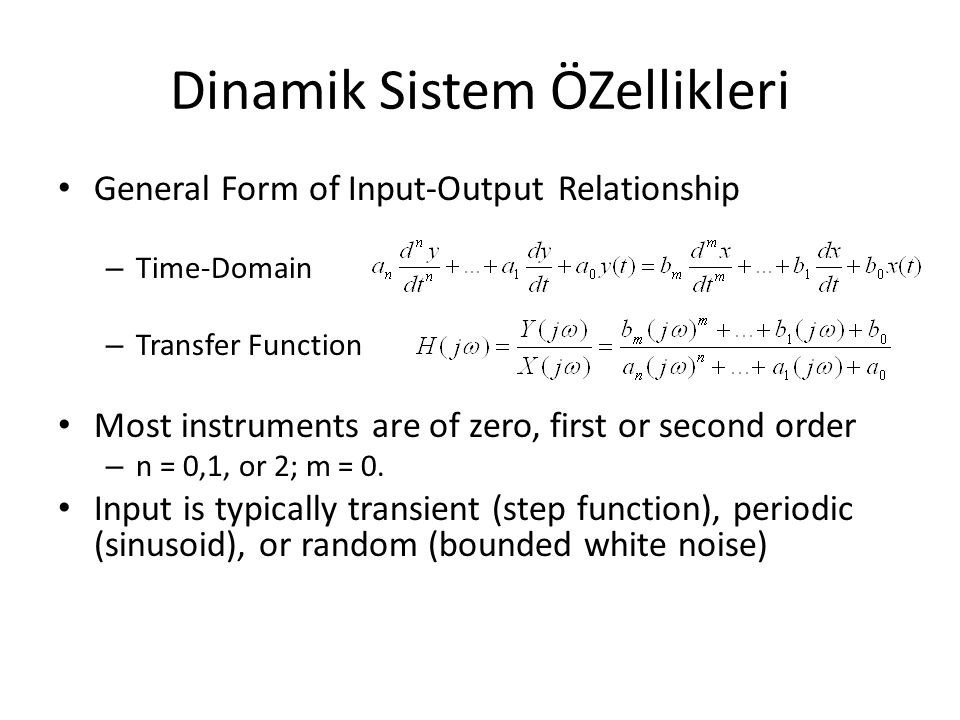 Sistem Lineerliği Properties required for a linear system – If y 1 and y 2 are the responses to x 1 and x 2, respectively, then y 1 + y 2 is the response to x 1 + x 2 and Ky 1 is the response to Kx 1, where K is a constant.