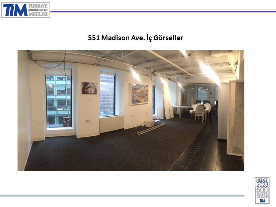 5 551 Madison Ave. İç Görseller