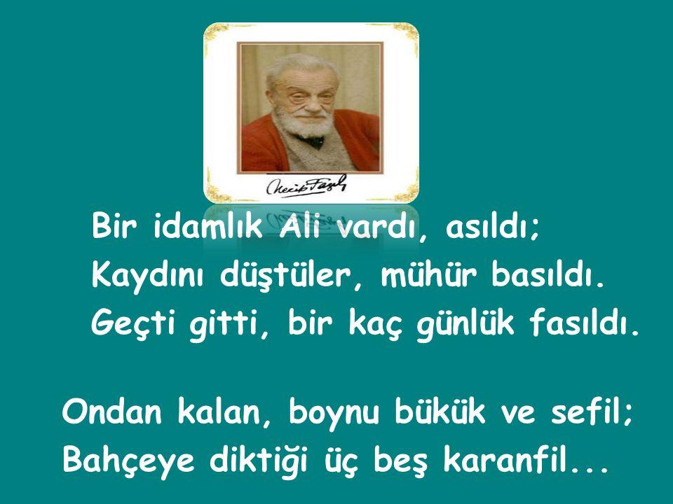 Mehmed im, sevinin, başlar yüksekte.Ölsek de sevinin, eve dönsek de.
