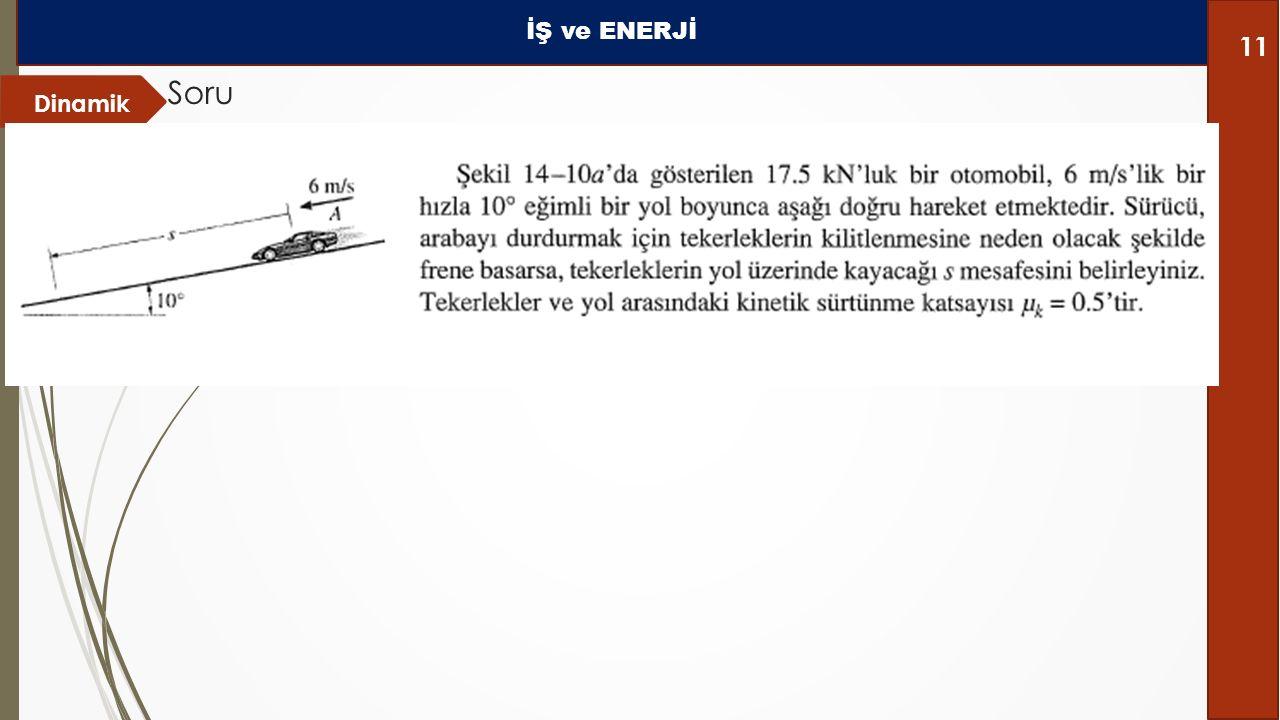 Dinamik Soru İŞ ve ENERJİ 11