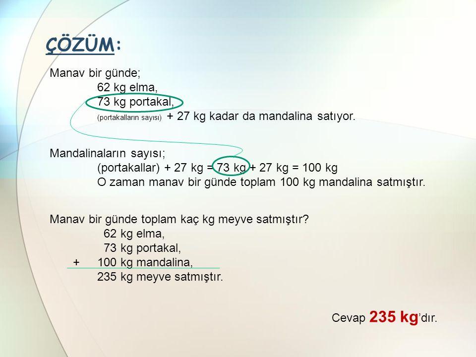 SORU-2 4, 0, 3 rakamlarını birer kez kullanarak yazılabilecek 3 basamaklı en büyük ve en küçük doğal sayıların toplamı kaçtır?