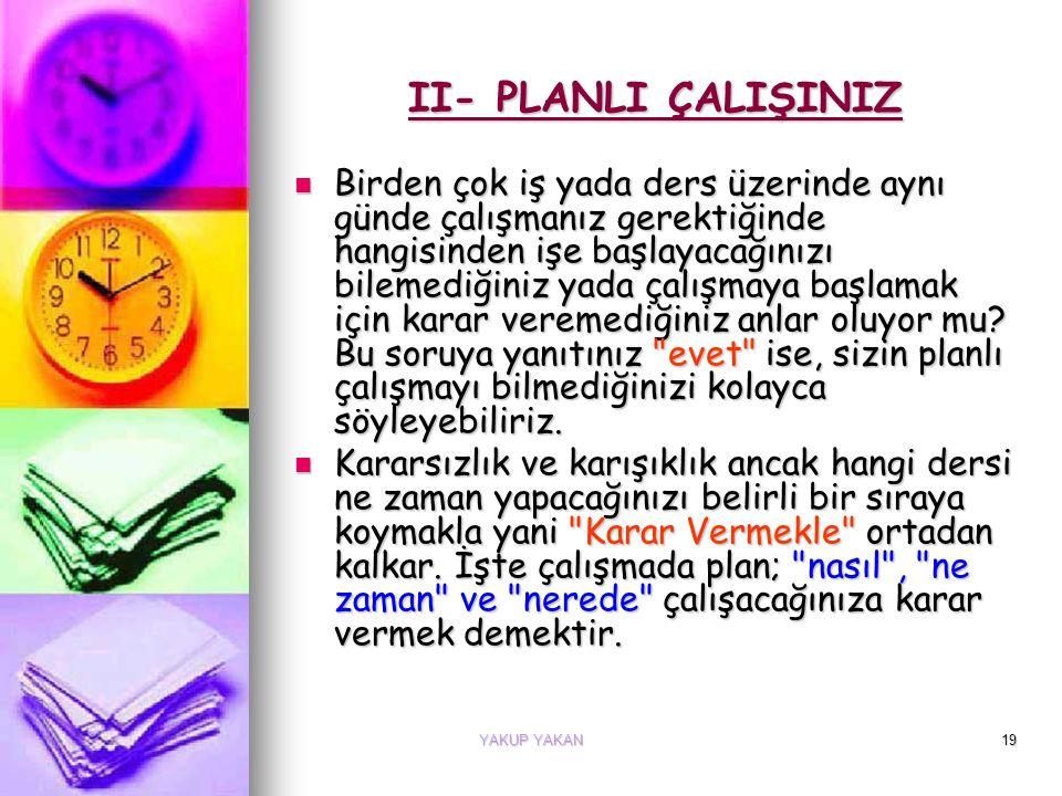 MEHMET AZEM BAYKAL18 Plan Nedir Planlı Çalışmayı Anlatayım Sana: