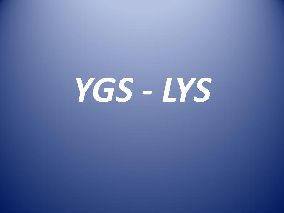 YGS - LYS