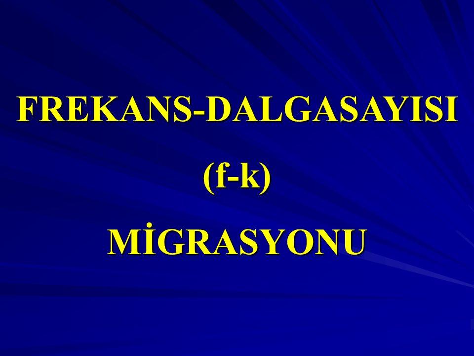 FREKANS-DALGASAYISI(f-k)MİGRASYONU