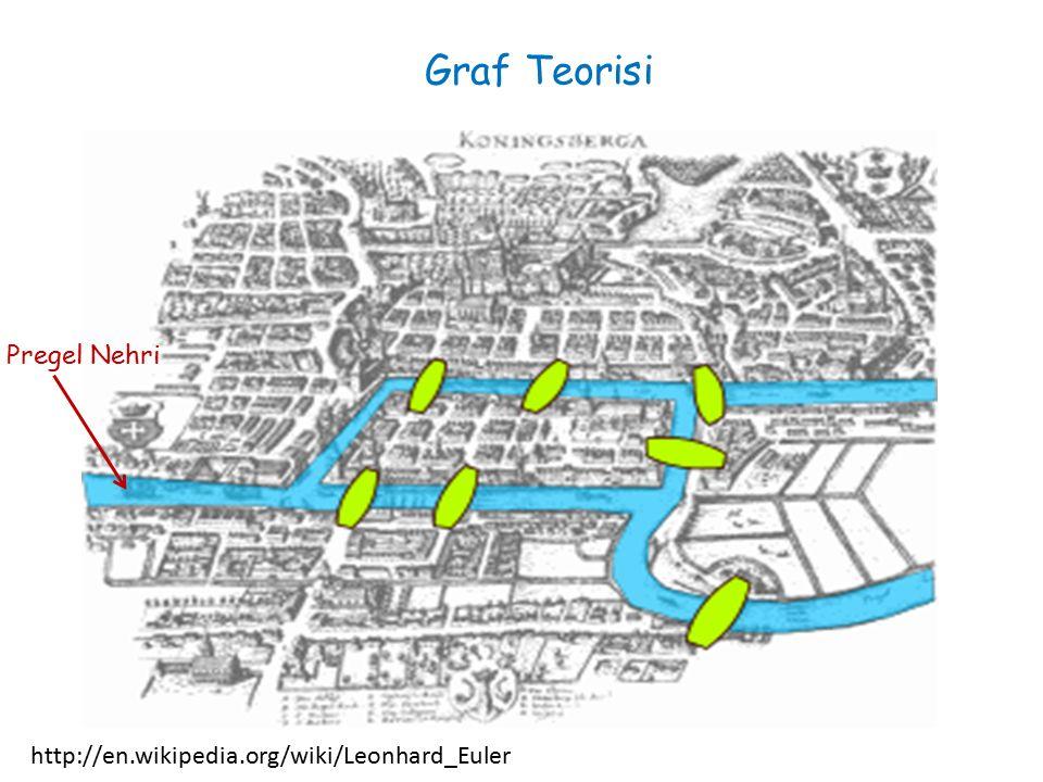 Graf Teorisi http://en.wikipedia.org/wiki/Leonhard_Euler Pregel Nehri