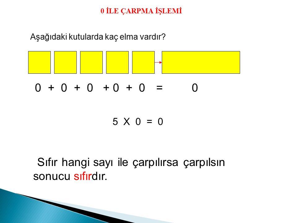1- 4 + 4 + 4 + 4 + 4 işleminin çarpma şeklinde yazılışı hangisidir.