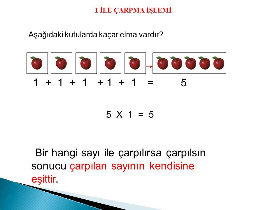 Örnek: 4'ün 2 katı kaçtır.