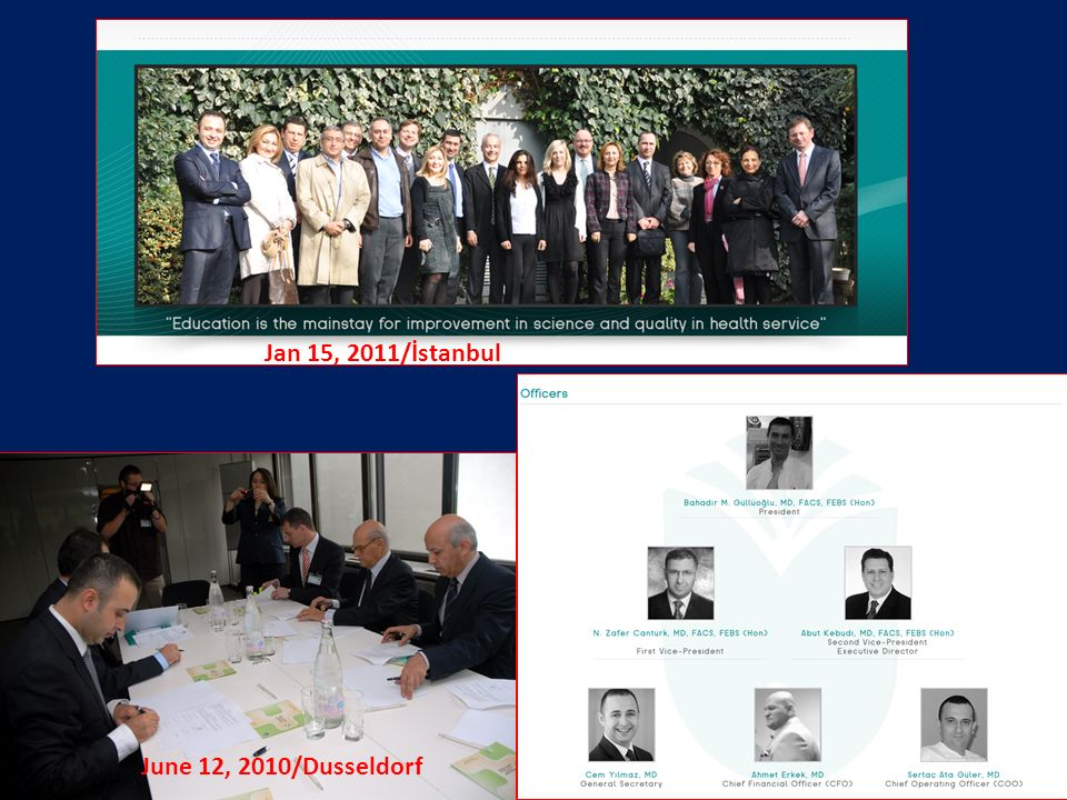 June 12, 2010/Dusseldorf Jan 15, 2011/İstanbul