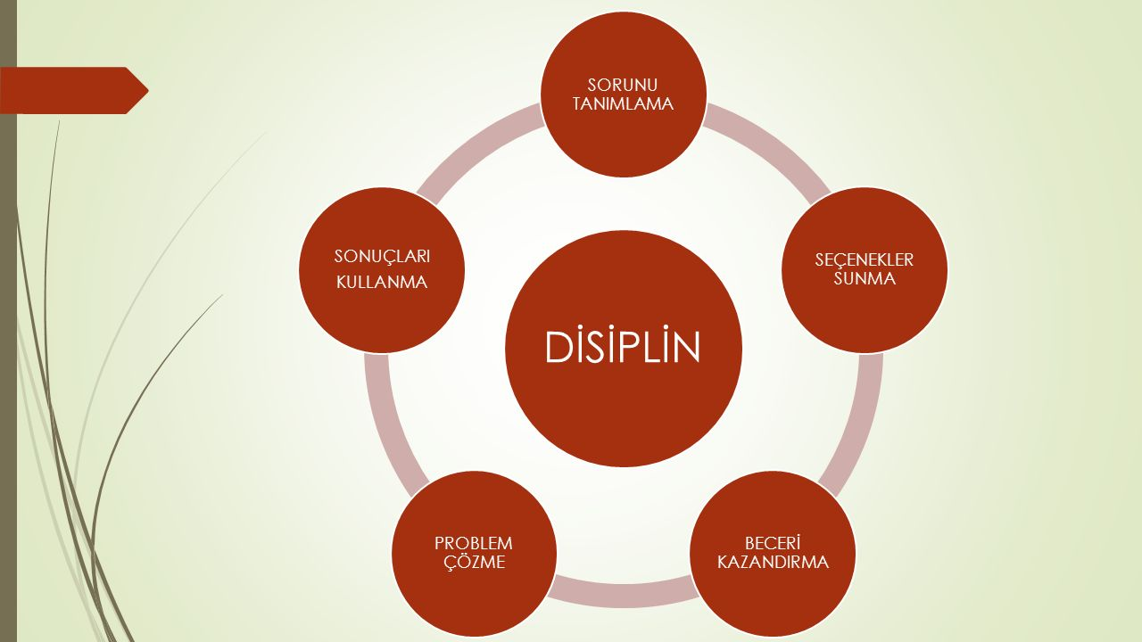 SINIFTA DİSİPLİNİ SAĞLAMA VE İSTENMEYEN DAVRANIŞLARIN ÖNLENMESİNE İLİŞKİN BAZI ÖNERİLER Curwin ve Mendler (1998), sınıflardaki baş edilmesi zor öğrencilerin disiplin problemlerini önlemek üzere öğretmenlere şu önerileri sunmaktadır: 1- Hiperaktif öğenciler: Kendinize yakın oturtunuz.