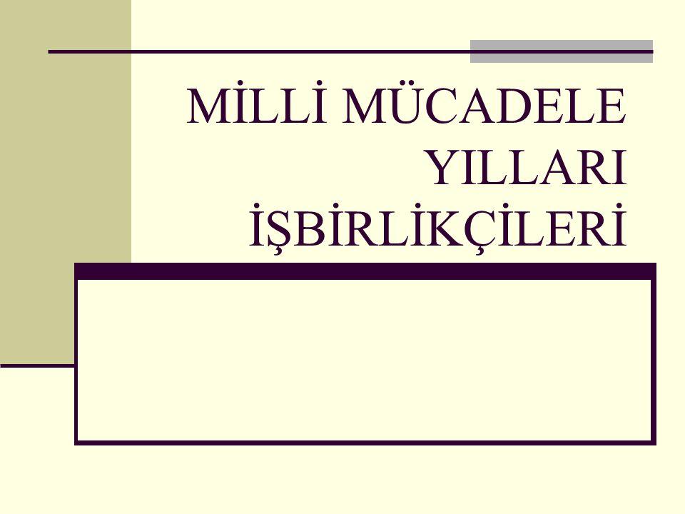 Yazar ve Nazır Ali Kemal: Düşmanlar, Teşkilat-i Milliye den bin kere daha iyidir. - 23.04.1920 Kars alındı.