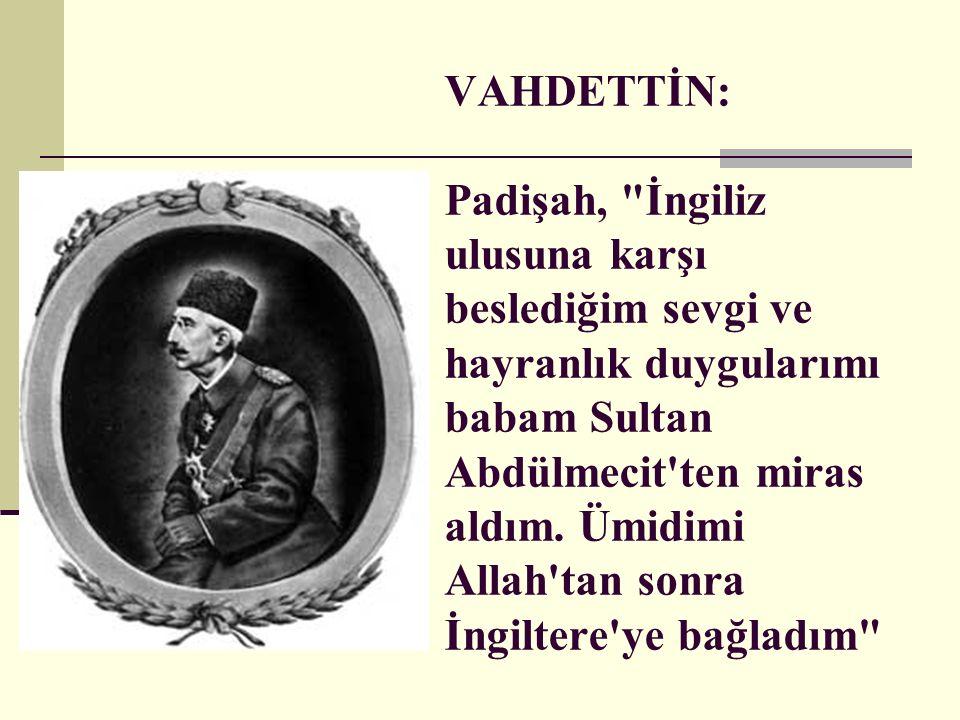 Şeyhülislam Mustafa Sabri Efendi(Mason) Benim elimden gelse Türkleri Arap yaparım, diğer Müslümanları da.