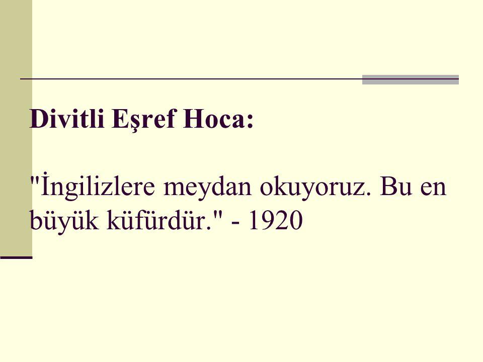 Divitli Eşref Hoca: