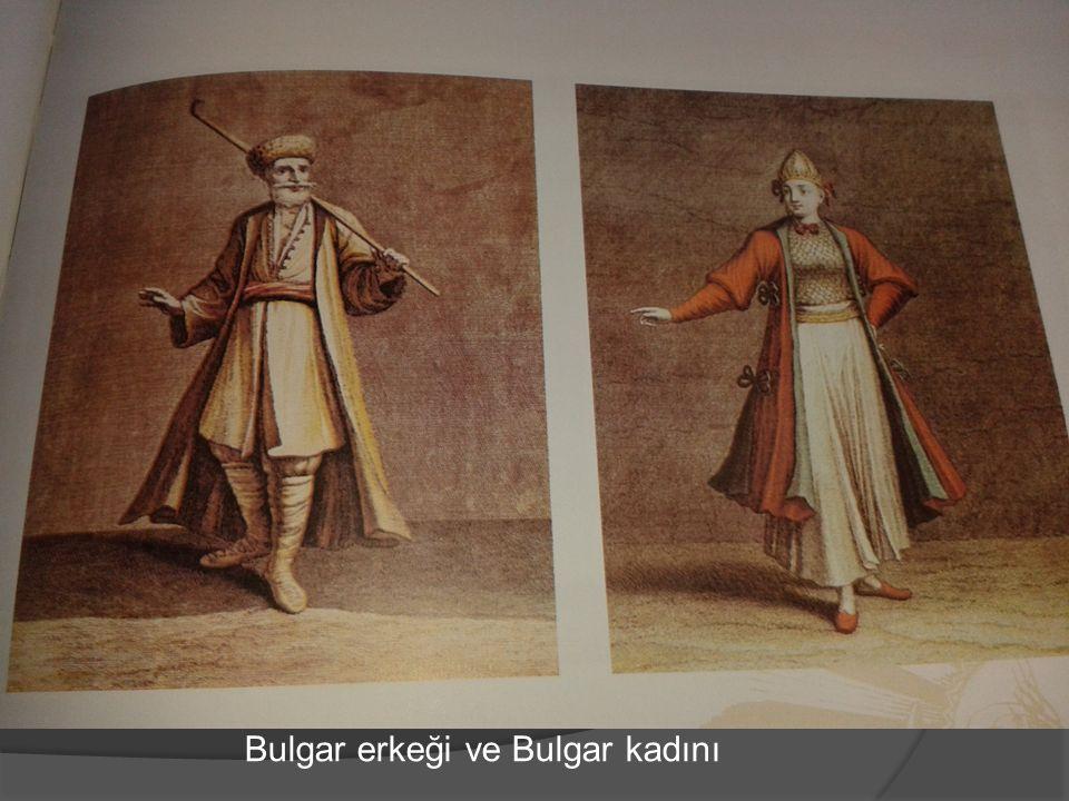 Bulgar erkeği ve Bulgar kadını