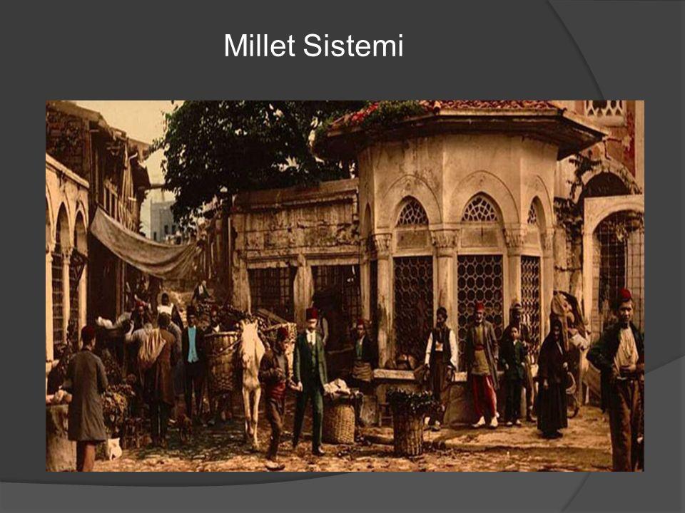  Osmanlıda millet sistemi neye göre oluşur.