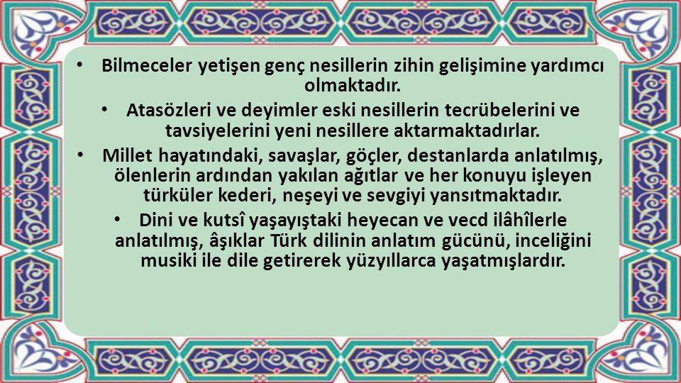 A.ŞİİR (NAZIM) BİÇİMLERİ 1.