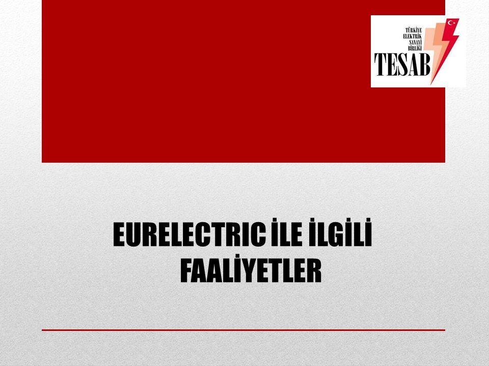 EURELECTRIC İLE İLGİLİ FAALİYETLER