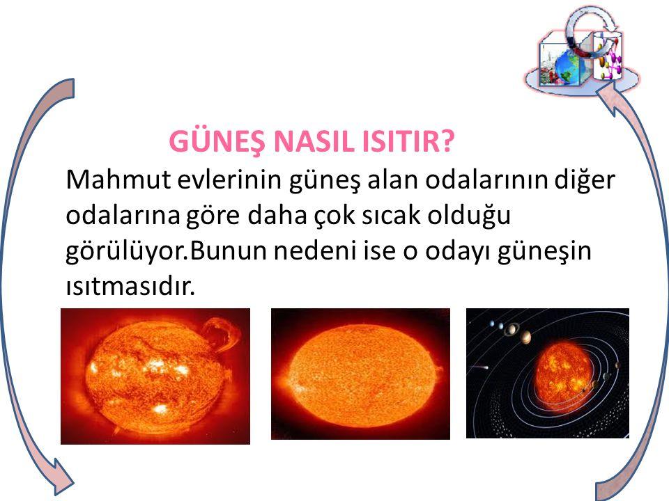 GÜNEŞ NASIL ISITIR.