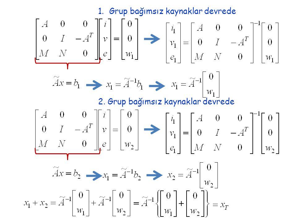Teorem: (Çarpımsallık) Lineer direnç elemanları+Bağımsız kaynaklar var iken devre çözülsün Lineer direnç elemanları+Bağımsız kaynakların değeri k katına çıkarılsın ve devre çözülsün Thevenin (1883) ve Norton (1926) Teoremleri Amaç: Lineer, zamanla değişmeyen çok uçlu, iki uçlu dirençlerden ve bağımsız akım ve gerilim kaynaklarından oluşmuş bir N 1-kapılısının basit bir eşdeğerini elde etmek.