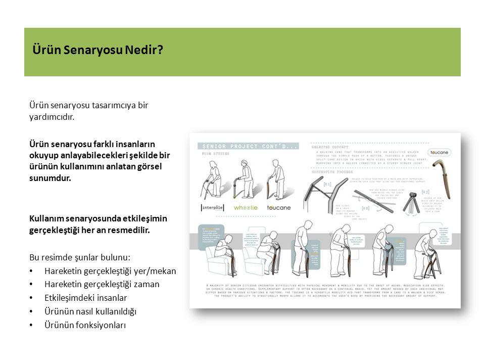 Faydalı Kaynaklar Van der Lelie, C.(2006). The value of storyboards in the product design process.