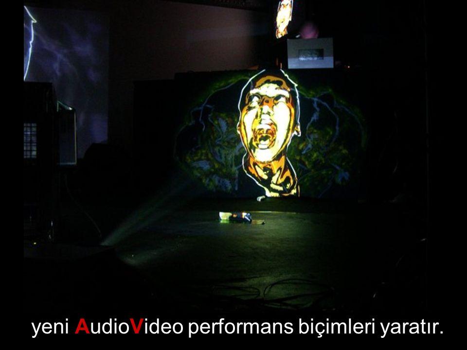 yeni AudioVideo performans biçimleri yaratır.