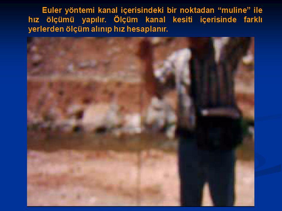 a) Düzenli-Uniform bir akımda, birim zamanda ayni miktarda su uzun ve düz boruda akıyor.