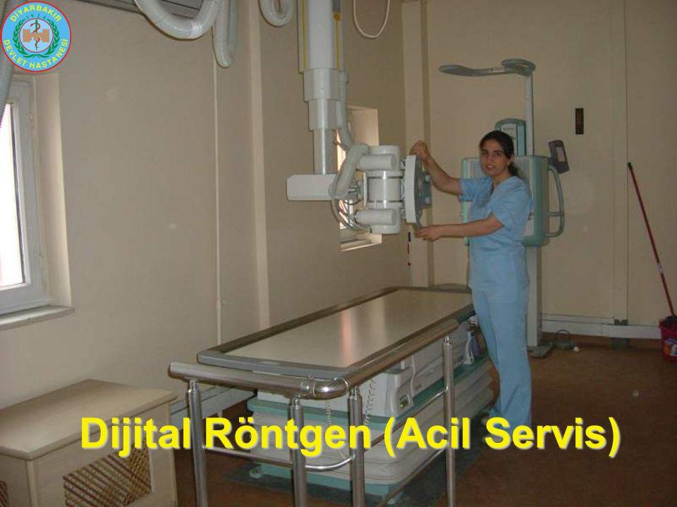 Dijital Röntgen (Acil Servis)