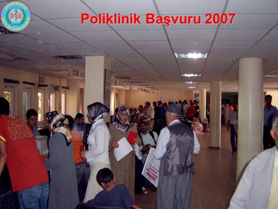 Poliklinik Başvuru 2007