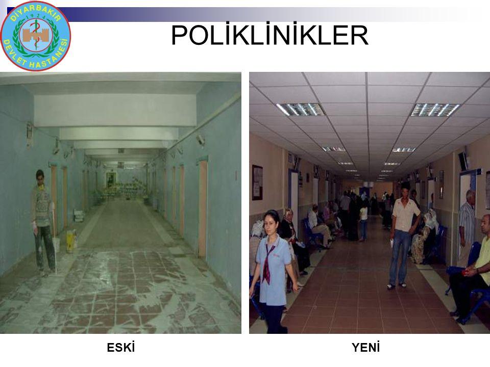 POLİKLİNİKLER ESKİYENİ