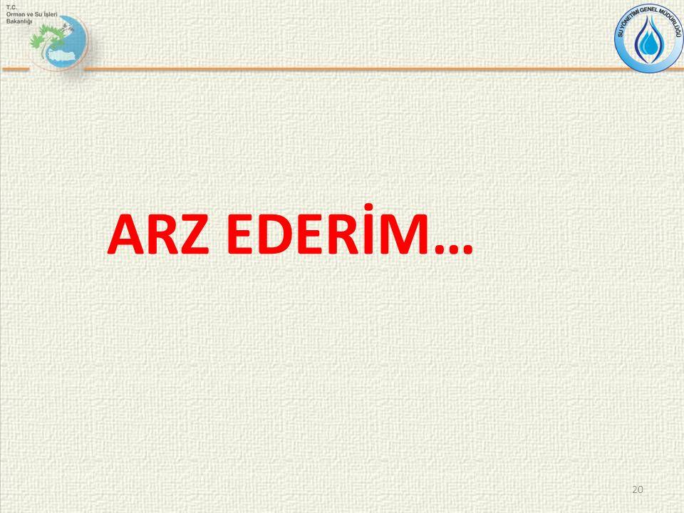 ARZ EDERİM… 20