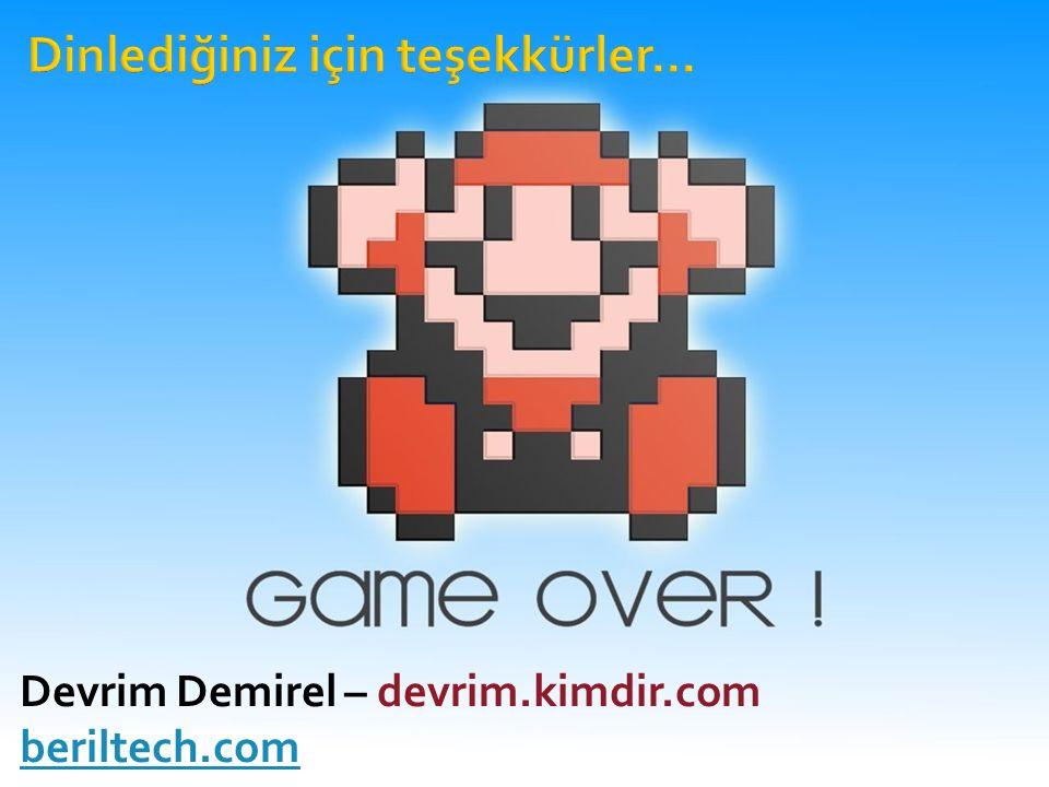 Devrim Demirel – devrim.kimdir.com beriltech.com