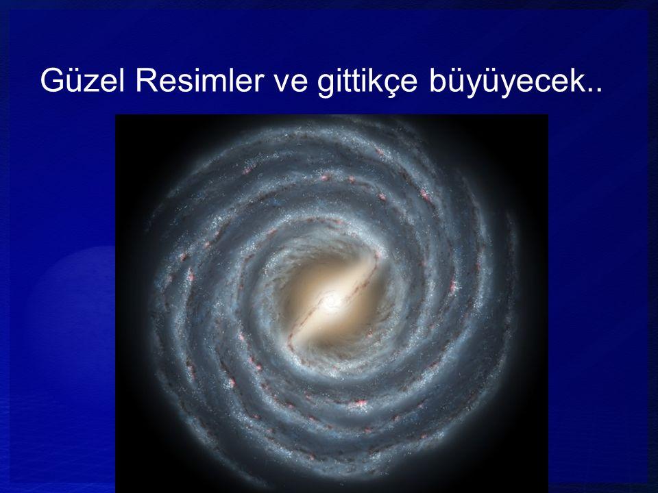 Güzel Resimler ve gittikçe büyüyecek.. Radius Milky Way (APOD 09/08/95) 5x10 20 m