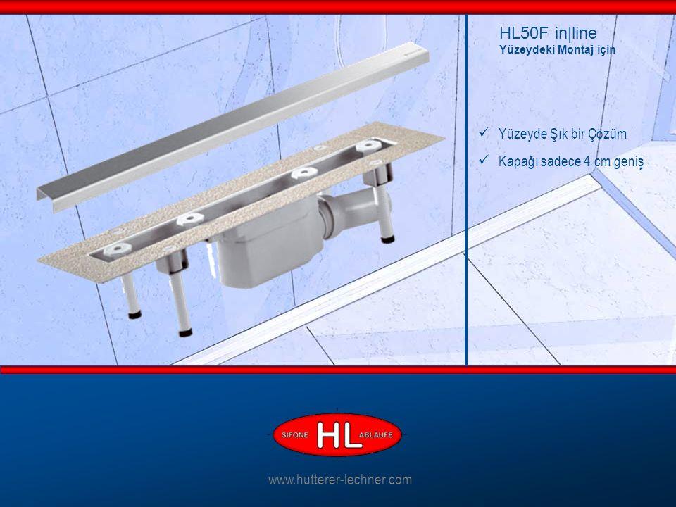 Yüzeyde Şık bir Çözüm Kapağı sadece 4 cm geniş HL50F in|line Yüzeydeki Montaj için www.hutterer-lechner.com