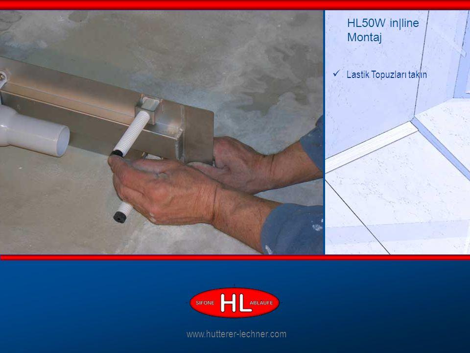 Lastik Topuzları takın HL50W in|line Montaj www.hutterer-lechner.com