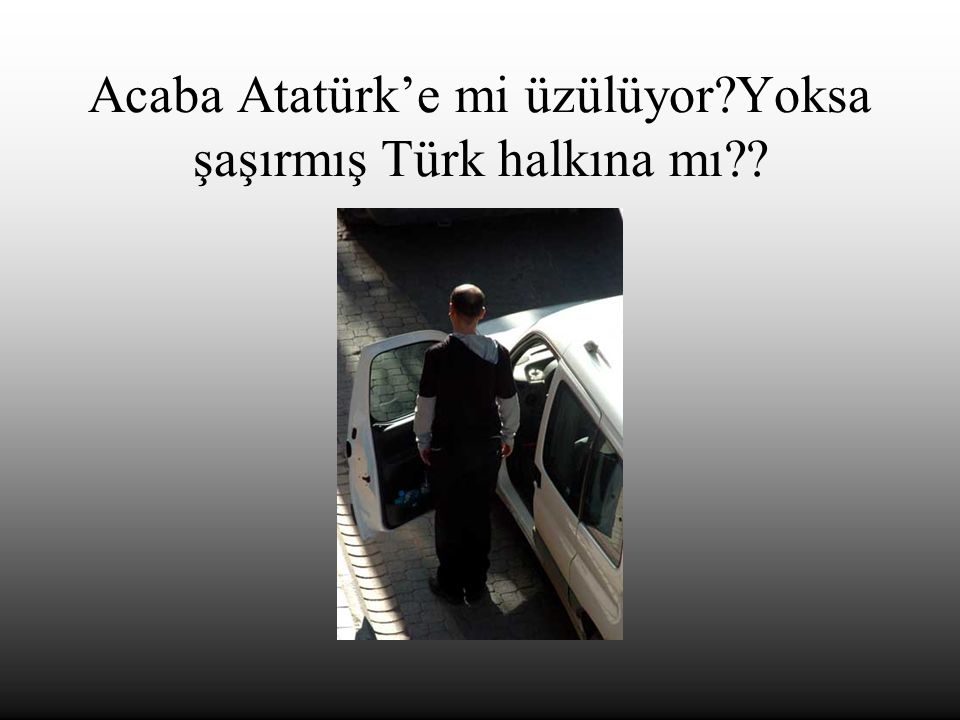 Damarlarındaki asil kan kavramının Pis Türk kanı olduğunu ATA'mız duysa yüreği gerçekten böyle yanar mıydı?