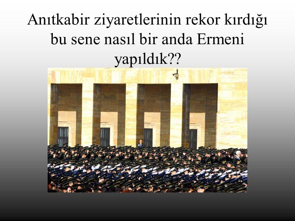 Bir de bu Aziz Gazi Dedelerimize deyin bakalım Ermenisin diye…