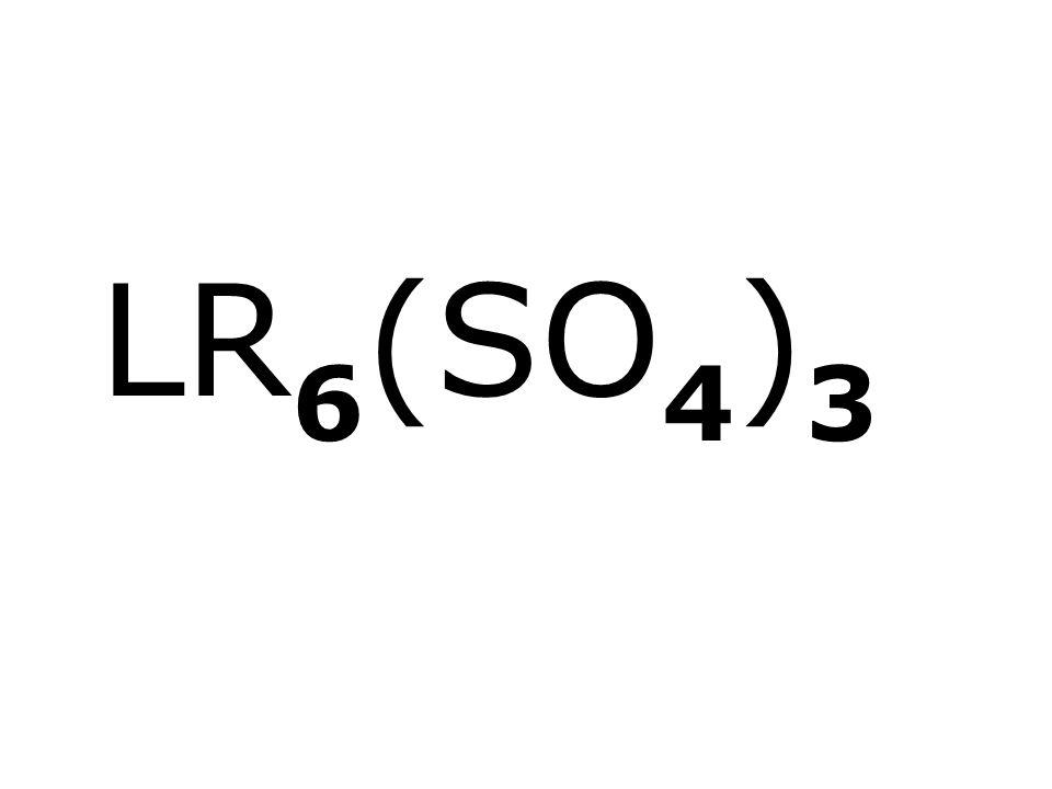 LR 6 (SO 4 ) 3
