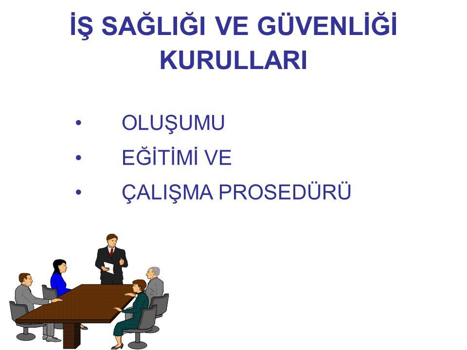 KURULUN ÇALIŞMA USULLERİ -3- Kurul Kararlarının Yazılı Olarak İşverene Bildirilmesi Zorunludur.