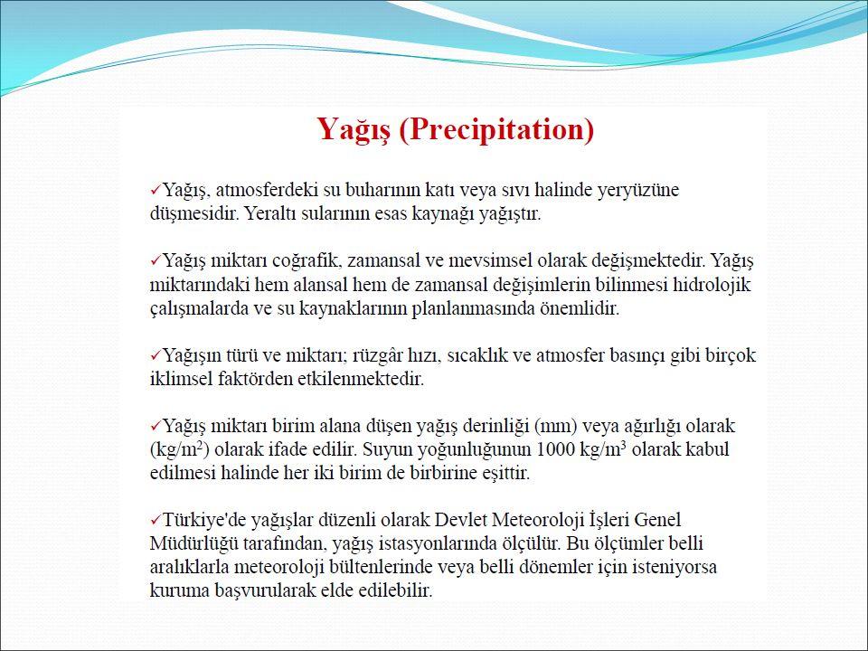 Karın Ölçülmesi ■ Yağmur ölçekleri kullanılır.