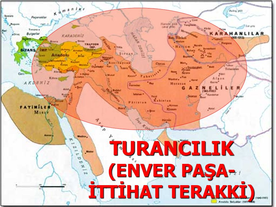 TURANCILIK (ENVER PAŞA- İTTİHAT TERAKKİ)