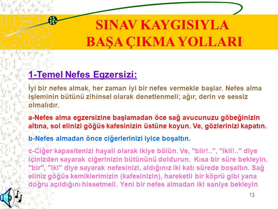 12 www.rehberlikservisi.com ATALETE DÜŞMEYİN
