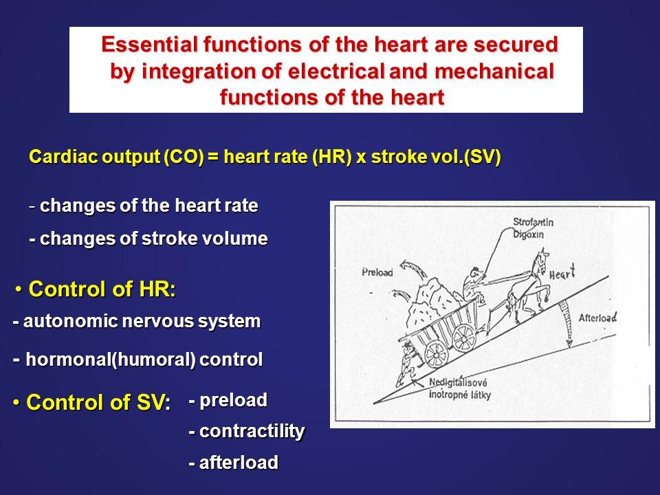 Congestion of pulmonary circulation In LHF, the left ventricular pressure ↑ →left atrium pressure ↑ →pulmonary veins, capillaries →pulmonary congestion and pulmonary edema