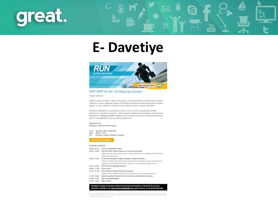 E- Davetiye