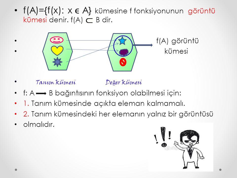 8.SORU: Aşağıdaki fonksiyonlarıngrafiklerini çizerek tanım ve görüntü kümelerini belirleyiniz.