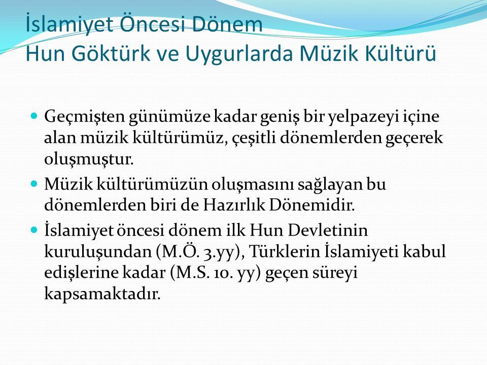 Türk Müziği Tarihi 1.