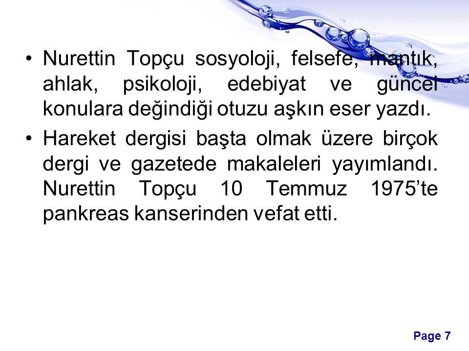 Page 18 Akademi dili Türkçe olmalıdır.