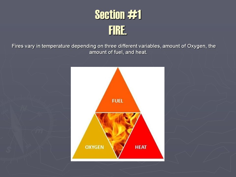 Section #1 FIRE.