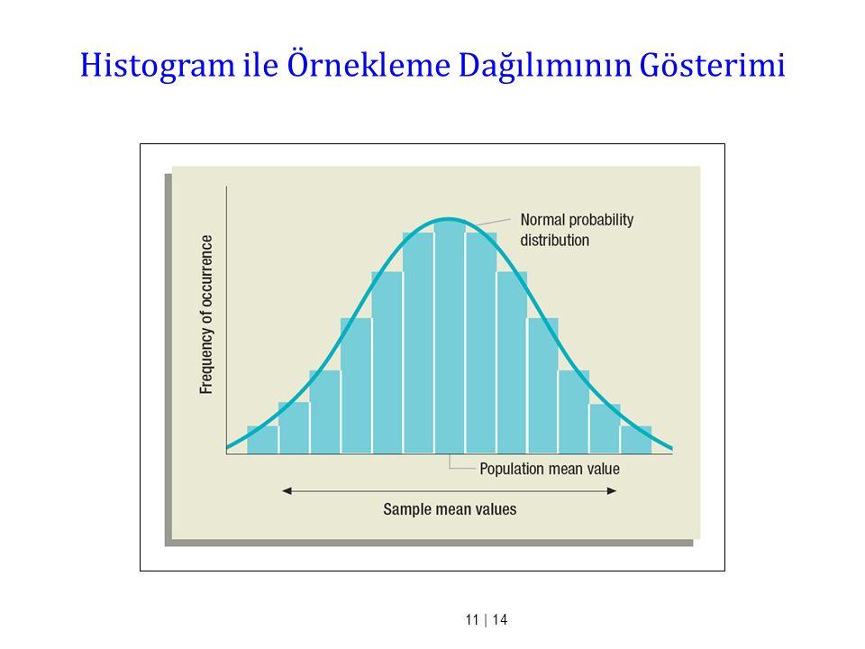 11 | 14 Histogram ile Örnekleme Dağılımının Gösterimi